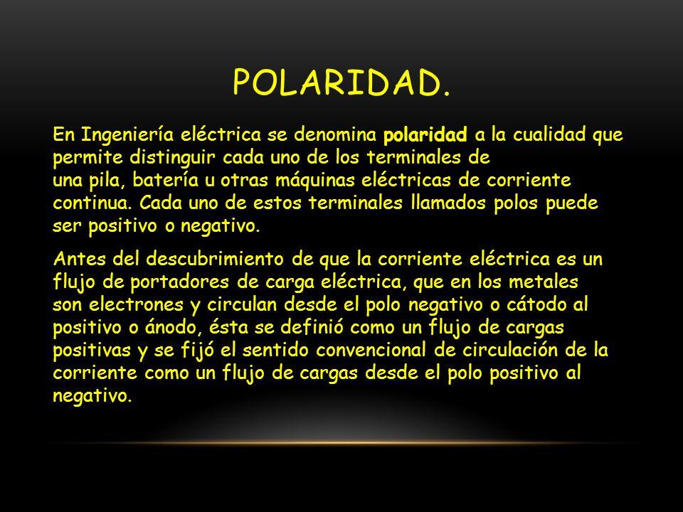 POLARIDAD.