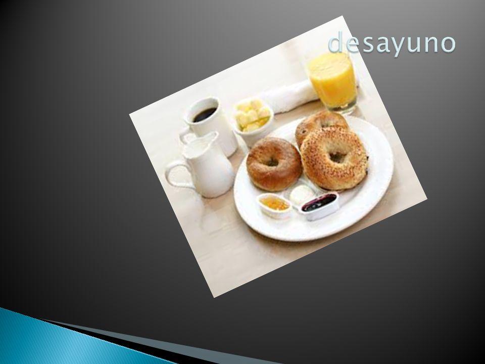 El desayuno francés suele seguir las pautas tradicionales de la Europa continental.