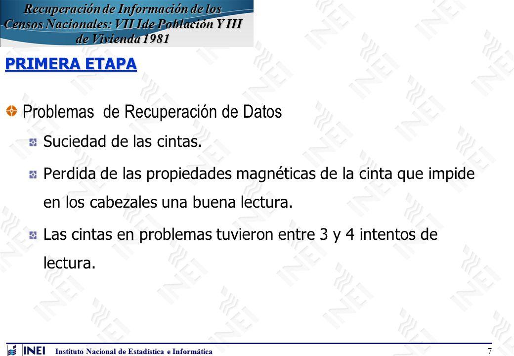 instituto nacional de estadistica del peru: