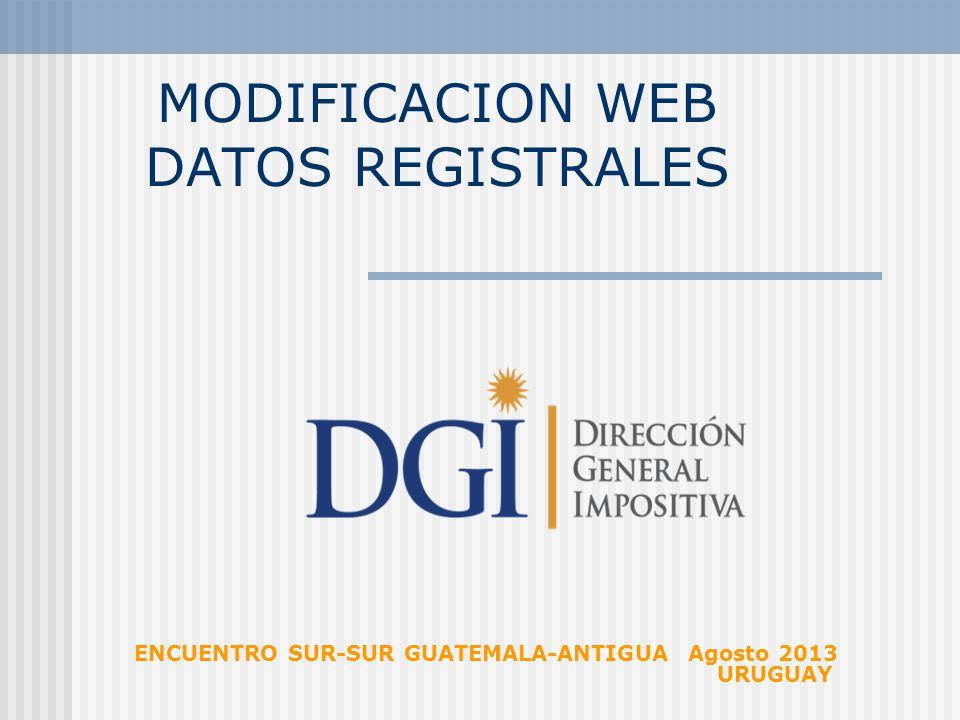 gobierno electronico direccion general impositiva uruguay:
