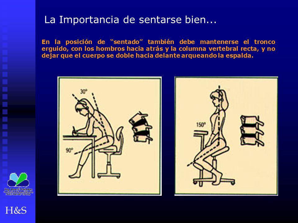 """La Importancia de sentarse bien... En la posición de """"sentado"""" también debe mantenerse el tronco erguido, con los hombros hacia atrás y la columna ver"""
