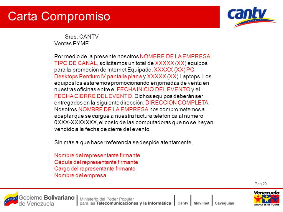 Pag 20 Carta Compromiso Sres.