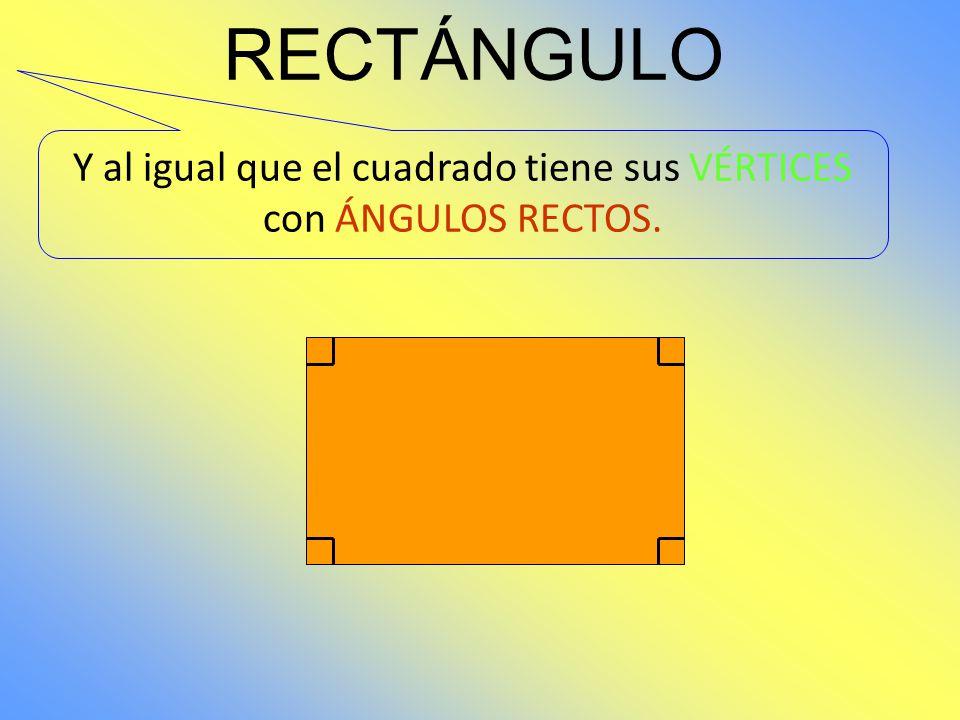 RECTÁNGULO Y VÉRTICES 1 2 3 4