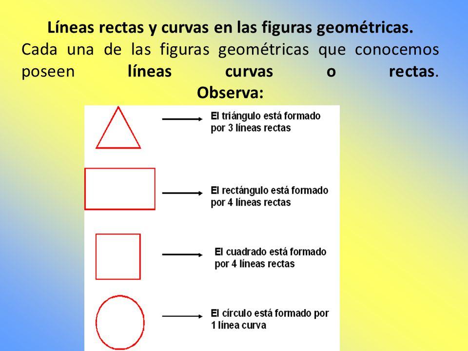 Una línea es una secuencia infinita de puntos. Las líneas pueden ser rectas o curvas. Las líneas rectas son aquellas que podemos hacer con una regla.