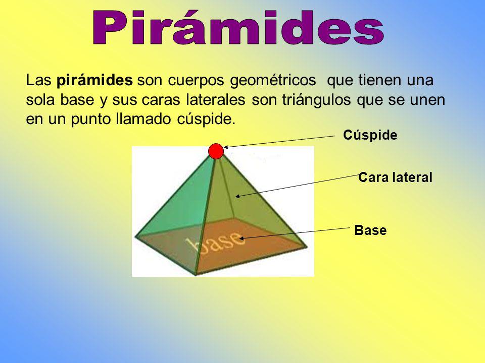 El nombre de un prisma se relaciona con los polígonos que forman sus caras basales. Prisma pentagonal Prisma triangular Prisma hexagonal