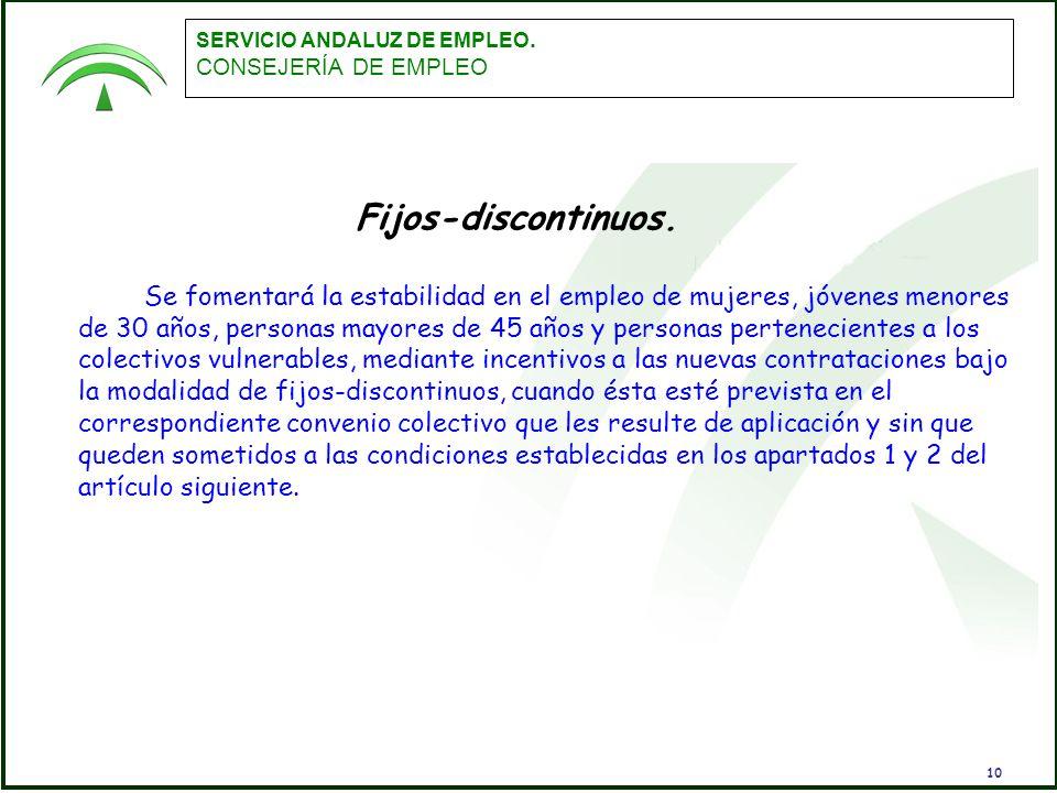 empleo servicio andaluz de empleo: