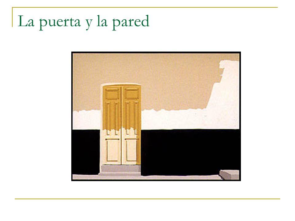La puerta y la pared