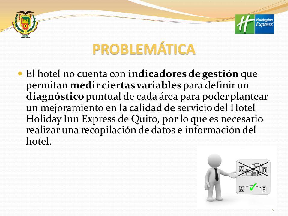 DIAGRAMA DE ISHIKAWA BASADO EN LA PROBLEMÁTICA DEL HOTEL HOLIDAY INN EXPRESS 4