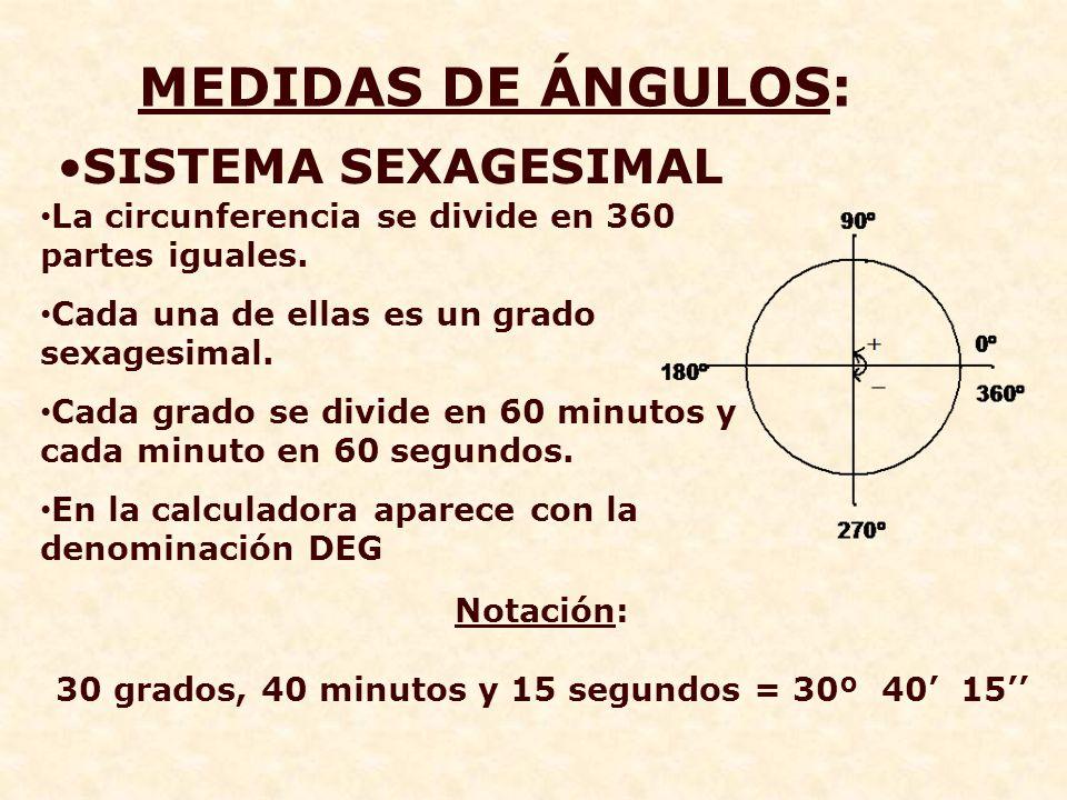 EJEMPLO 3 Sabiendo que α es un ángulo agudo tal que tagα=2 calcula el sen α y cosα