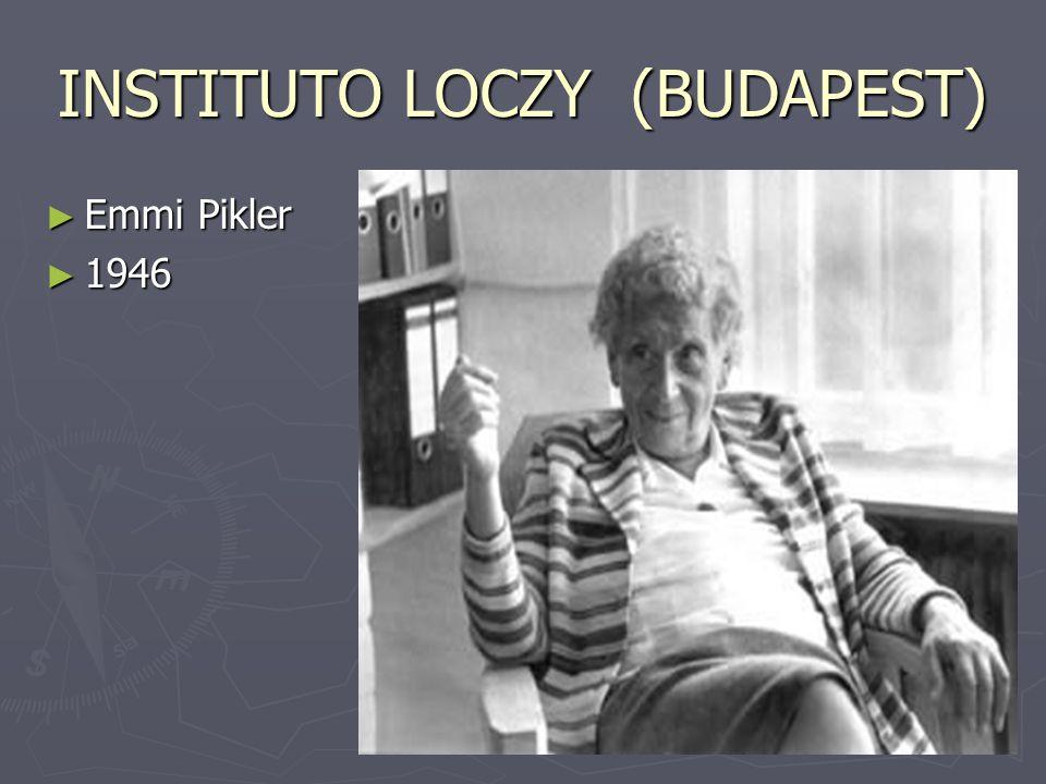 INSTITUTO LOCZY (BUDAPEST) ► Emmi Pikler ► 1946