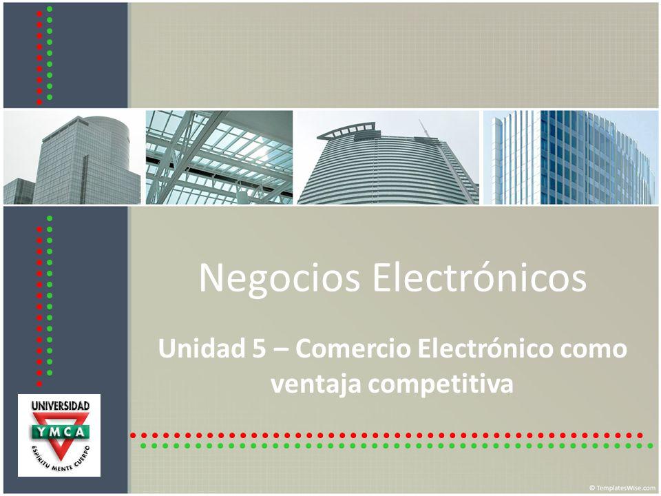 5.1 Elementos del Comercio Electrónico Modelo de Negocio (claridad) Base de Datos.