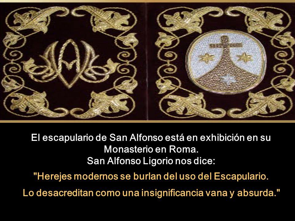 Resultado de imagen para escapulario de San Alfonso