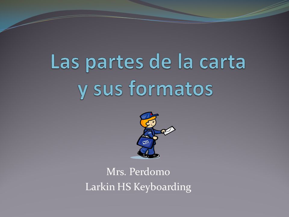 Mrs. Perdomo Larkin HS Keyboarding
