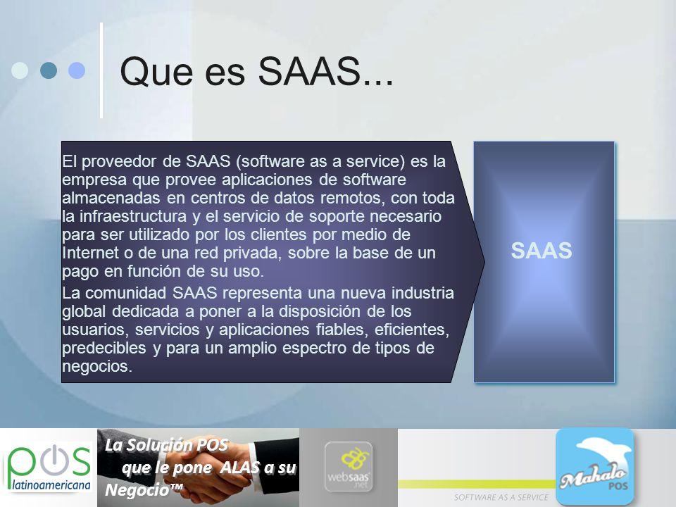 Diferencias entre Modelo Tradicional y el Modelo SaaS 1.
