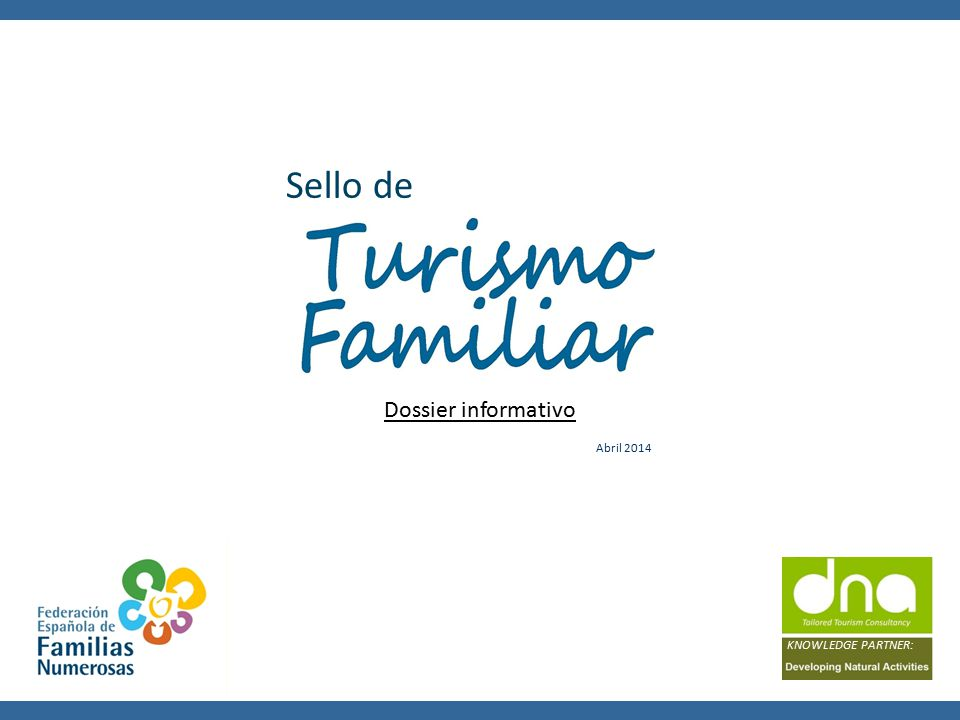 KNOWLEDGE PARTNER: Sello de Dossier informativo Abril 2014