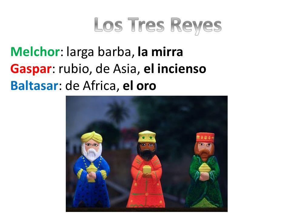 En la noche del 5 de enero, los niños escriben una carta a los Reyes, pidiendo los regalos que quieren Los niños dejan sus zapatos en un lugar de la casa para que Los Reyes puedan dejar los regalos Los niños que se portan mal reciben carbón dulce en vez de regalos