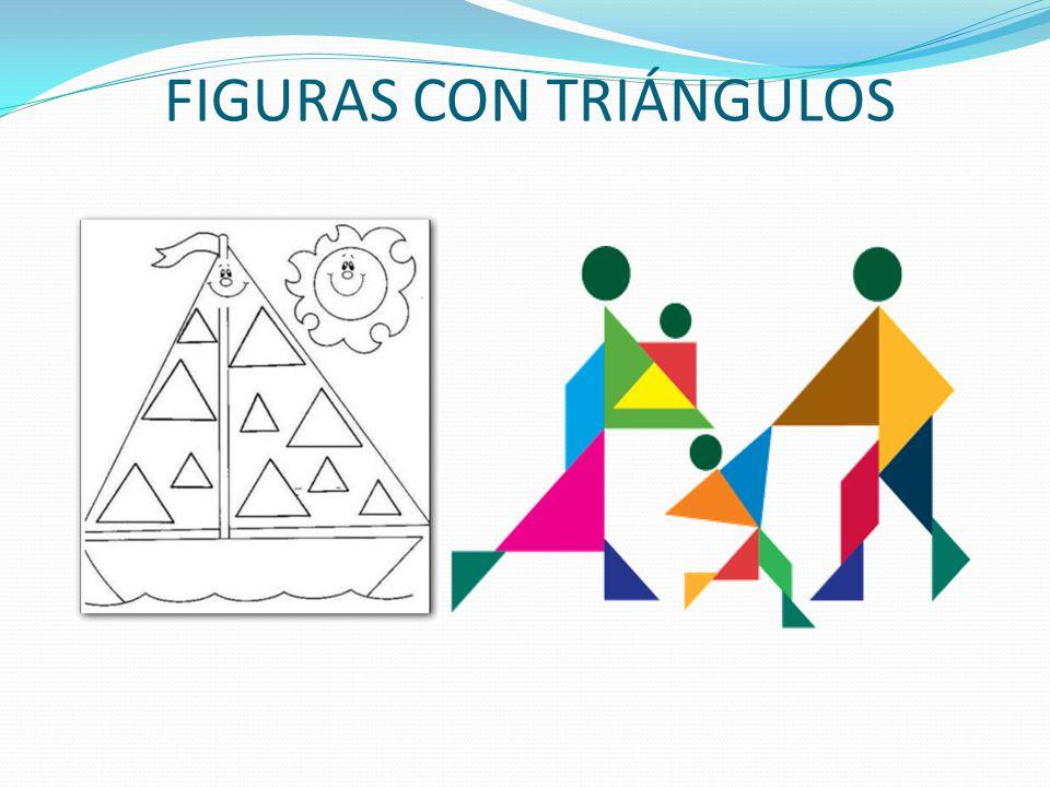 FIGURAS CON TRIÁNGULOS