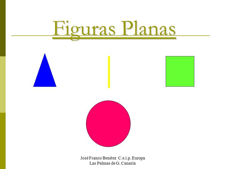 Figuras Planas José Franco Benítez C.e.i.p. Europa Las Palmas de G. Canaria