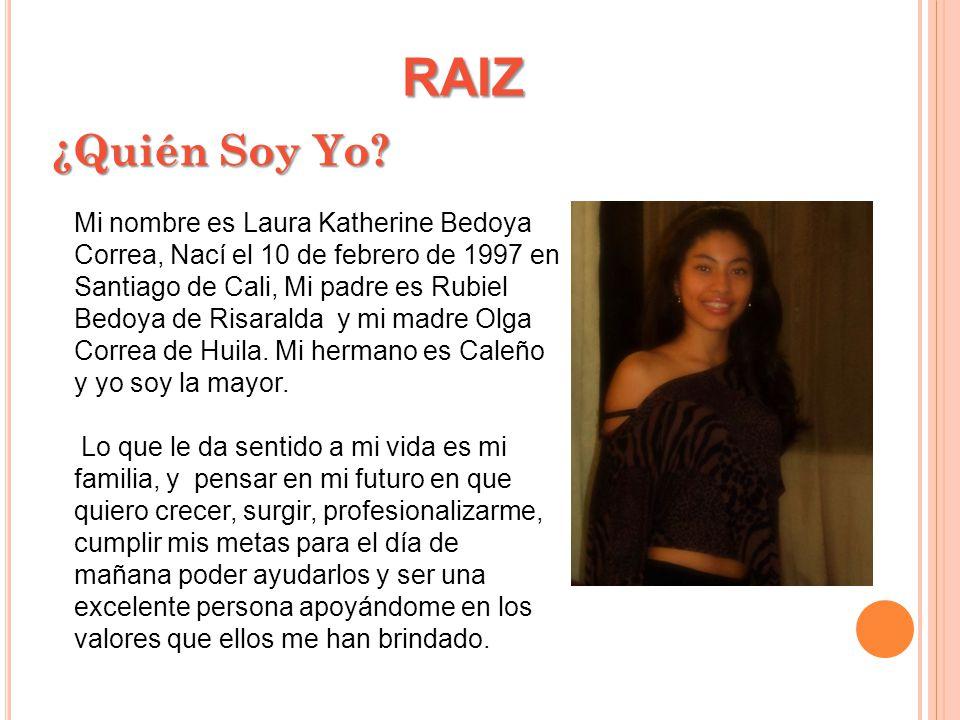 RAIZ ¿Quién Soy Yo.