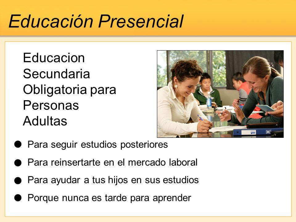 educacion secundaria obligatoria a distancia: