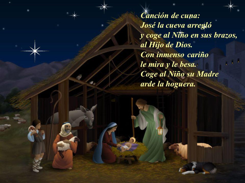adorar, a darle su amor y cantan al Rey del mundo, cantan al Redentor