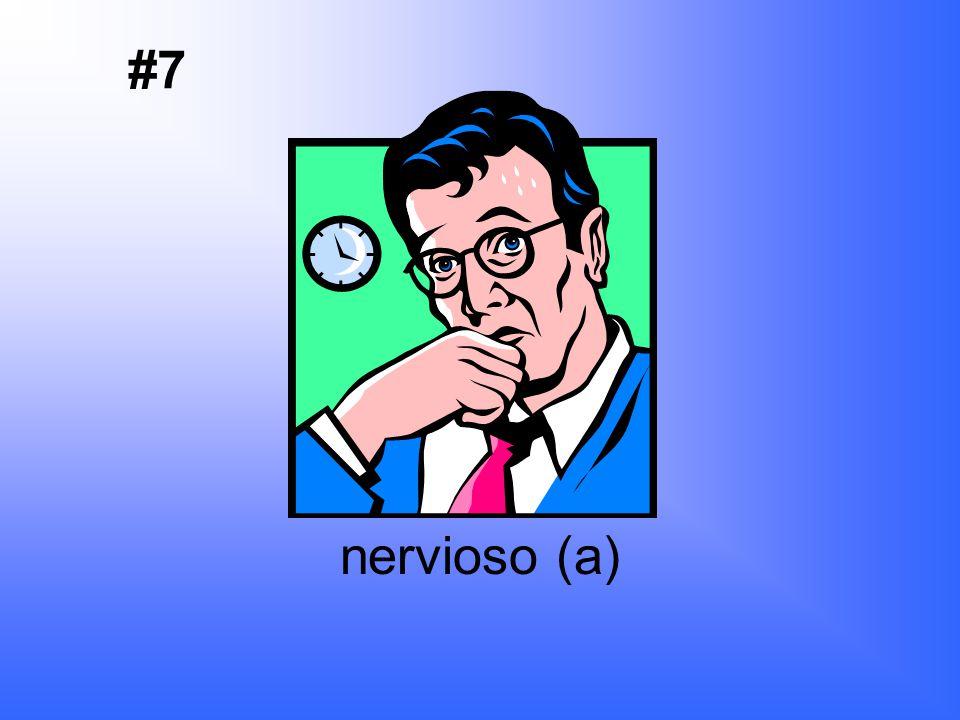 enojado (a) #6