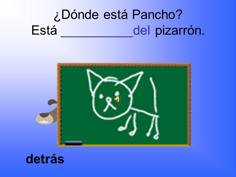 ¿Dónde está Pancho?