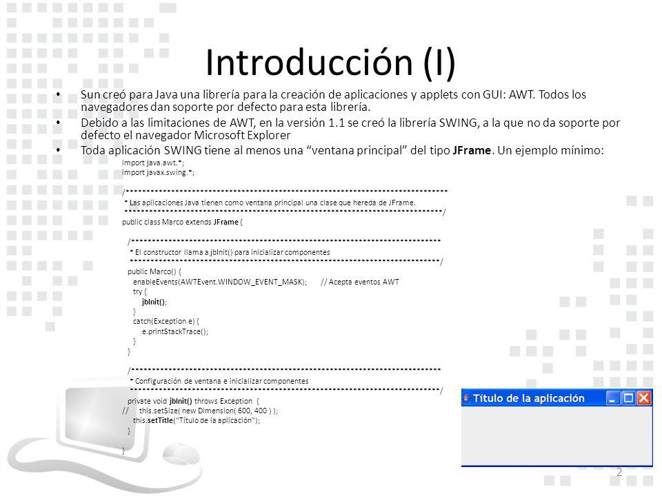 Excepcional Marco Gui Java Galería - Ideas Personalizadas de Marco ...