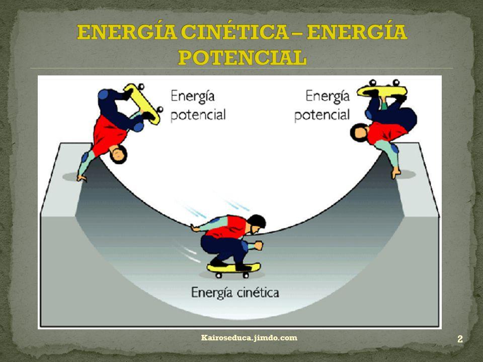 Energia Potencial Y Cinetica 44022 | BITNOTE
