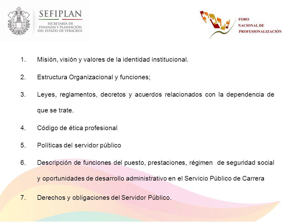Programa de Excelencia Secretarial.Programa de Profesionalizacion Programa de Protección Civil.