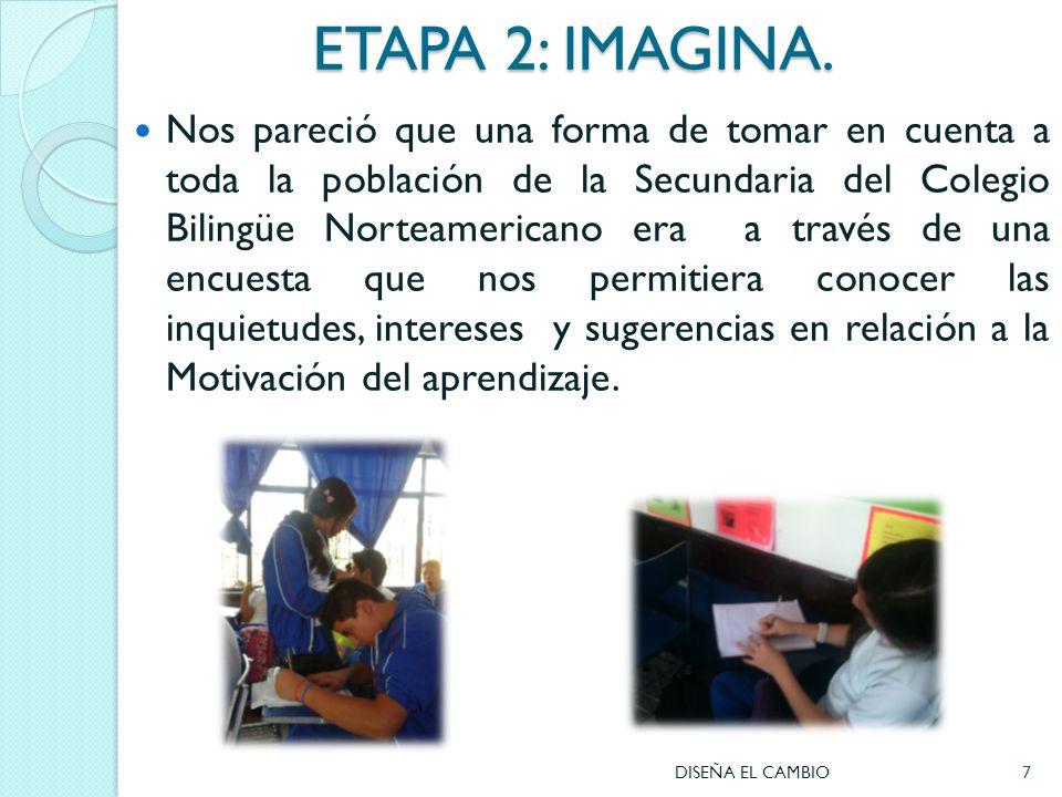 ETAPA 2: IMAGINA.