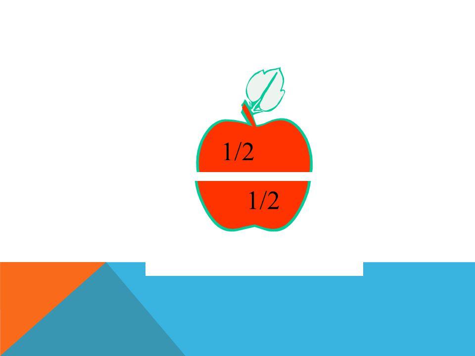 Para numerar cada una de las partes en que se divide la unidad, utilizamos los números Fraccionarios, que tiene la forma 1 2 NUMERADOR DENOMINADOR Donde 1 representa las partes que se han tomado de la unidad y 2 , las partes en que se divide la unidad.