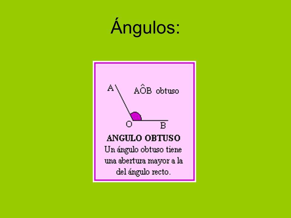 Ángulos: