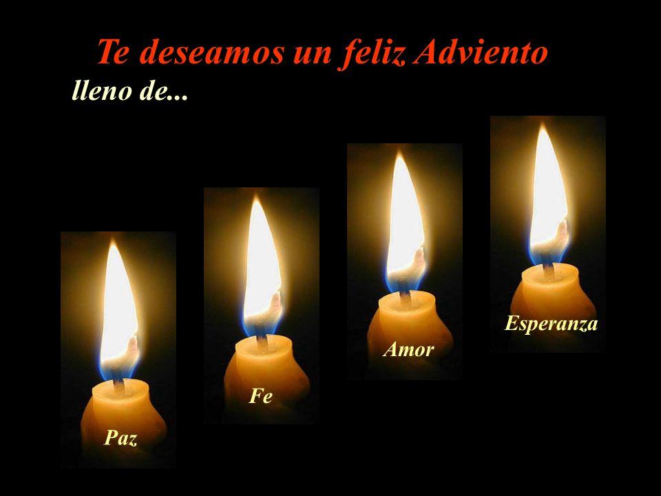 … la esperanza es nuestra herramienta para mantener la Paz, la Fe y el Amor