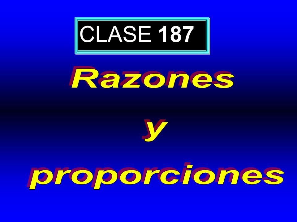 CLASE 187
