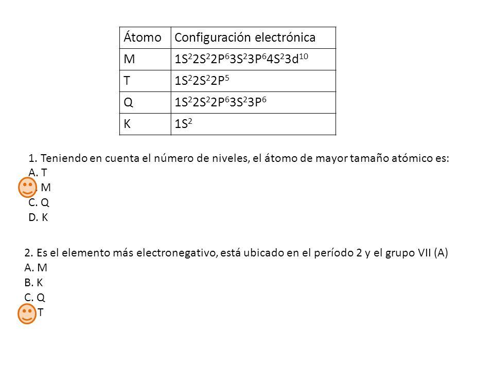 Qumica grado 11 repaso tabla peridica si un da tienes que elegir 6 tomoconfiguracin electrnica urtaz Choice Image