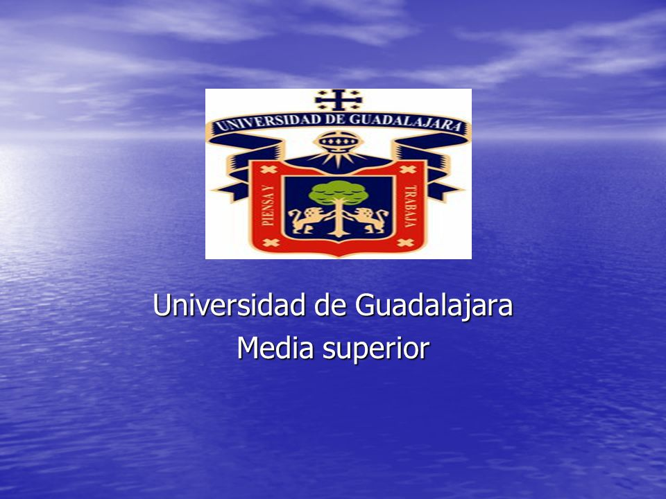 Universidad de Guadalajara Media superior