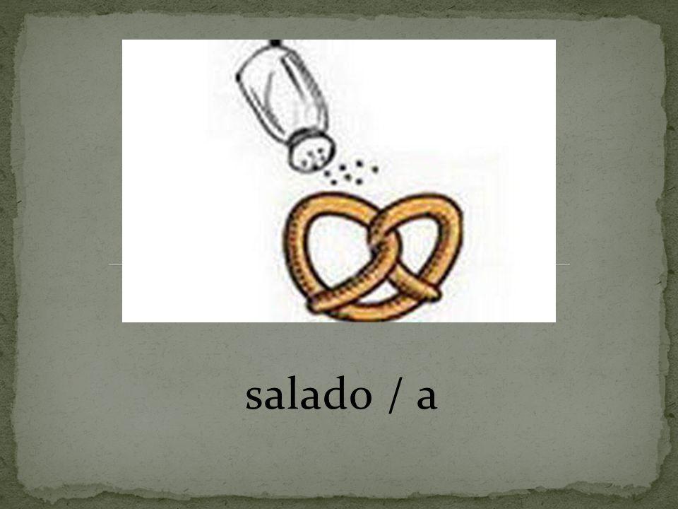 salado / a