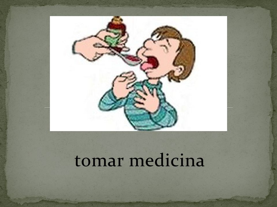 tomar medicina