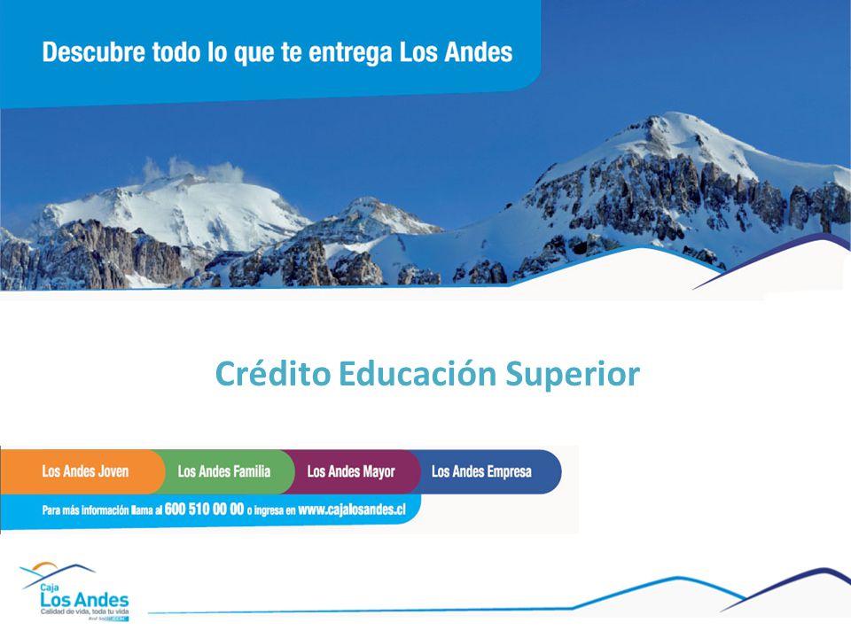 Crédito Educación Superior