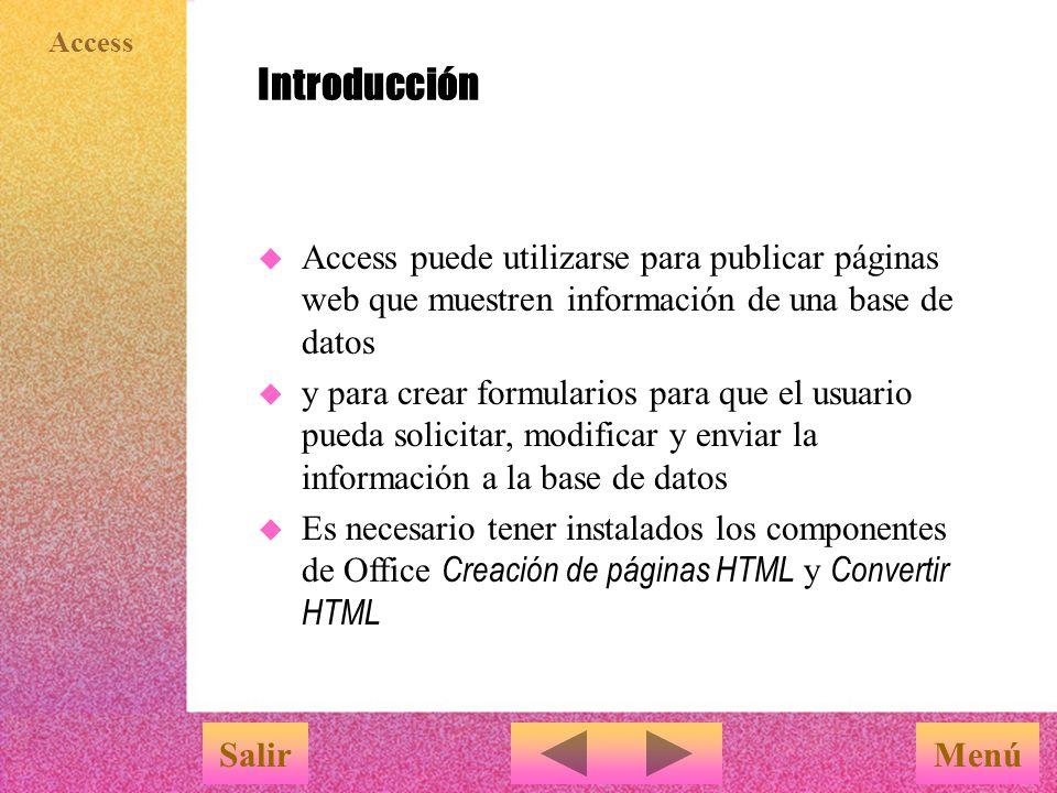 Access Crear hipervínculos en formularios e informes MenúSalir Para crear botones de acción o imágenes se debe usar el Cuadro de herramientas 1 abrir el formulario en vista Diseño 2 hacer clic en la herramienta Botón de comando o Imagen en el Cuadro de herramientas