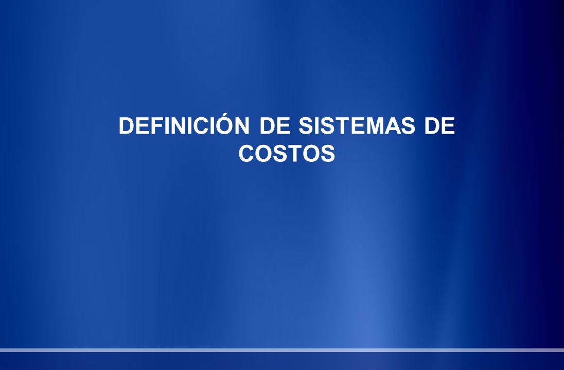 Sistema de Costeo por Ordenes de Producción Su costo de operación es alto.