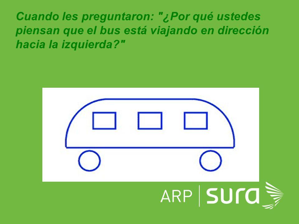 ARP SURA Ellos respondieron: Porque no se ve la puerta por la que se sube la gente.