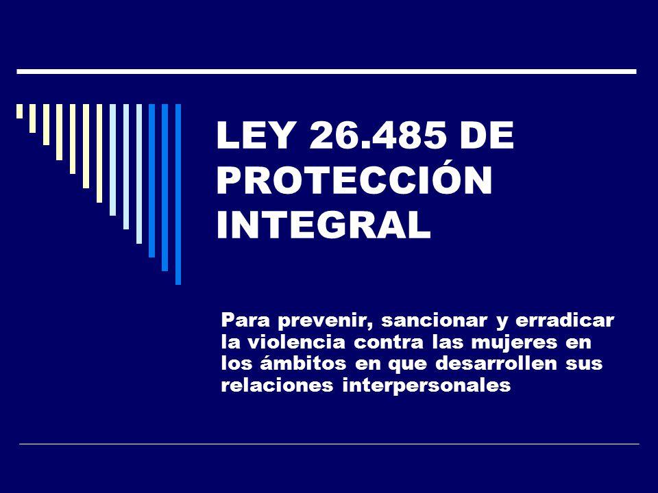 Resultado de imagen para 26.485 de Protección Integral a las Mujeres.