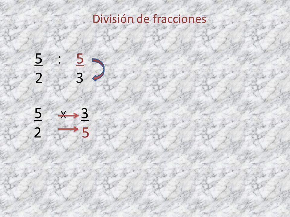 División de fracciones 4 : 2 11 3 4 X 3 11 2