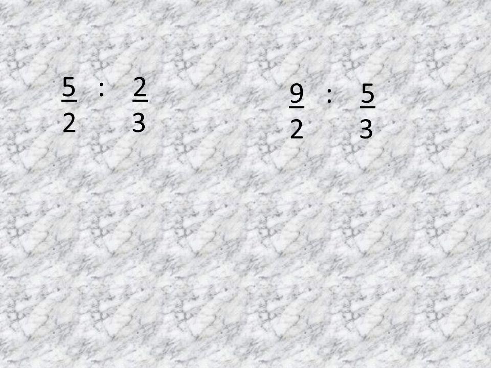 División de fracciones A la pizarra