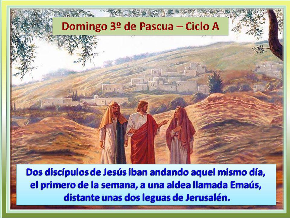 Resultado de imagen para AQUEL mismo día (el primero de la semana), dos de los discípulos de Jesús