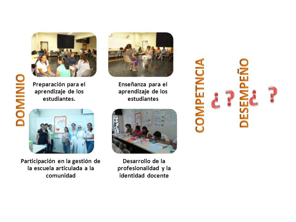 Preparación para el aprendizaje de los estudiantes.