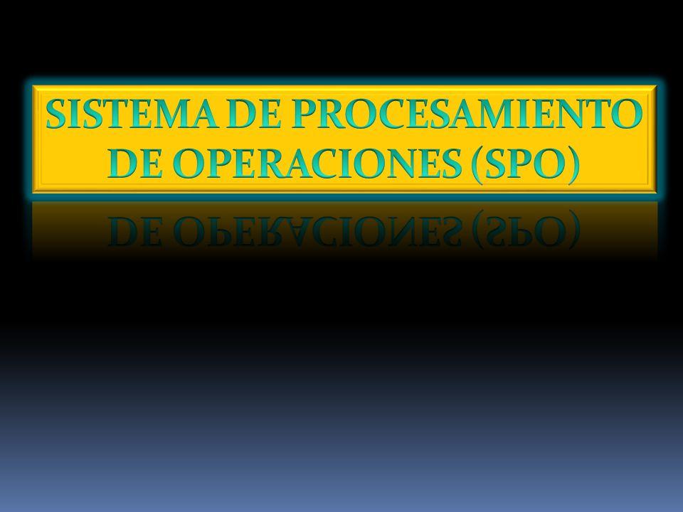 Este sistema brinda un servicio al nivel operativo de la institución.