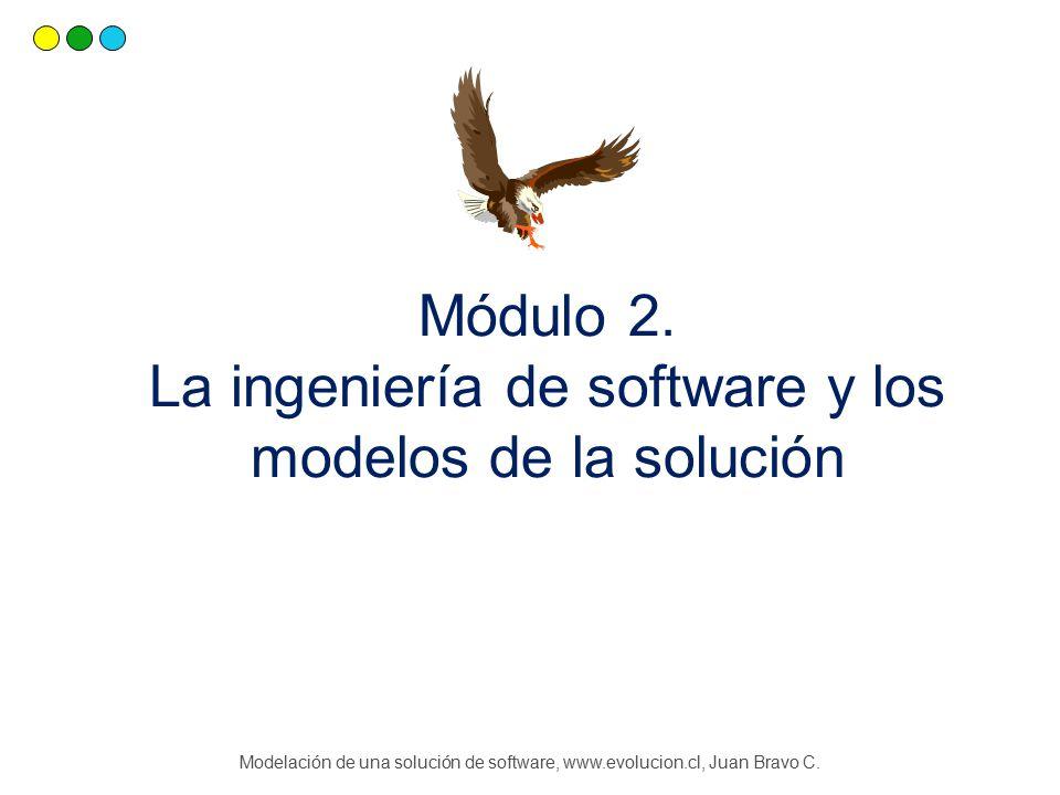 Módulo 2. La ingeniería de software y los modelos de la solución